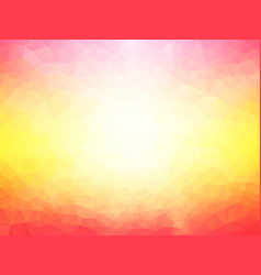 abstract pink yellow background vector image