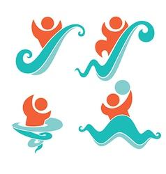 Aquapark vector