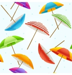 Beach Umbrella Background vector image