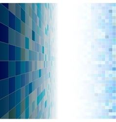 Blue mosaic copyspace vector