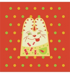 Cartoon rabbit vector