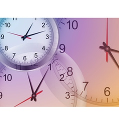 clock background2 vector image