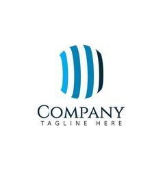 Company logo template design vector