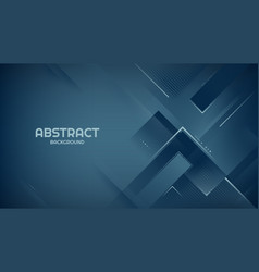 Dark blue geometric background with rectangle vector