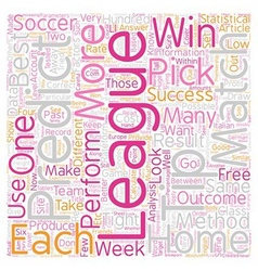 How To Make A Profit From FREE 1X2 Soccer Picks vector
