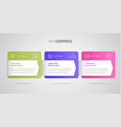 infographics design business concept vector image