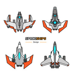 Spaceships vector