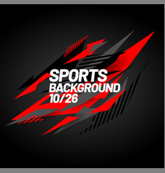 sports background for event tournament vector image