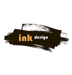 spot ink vector image