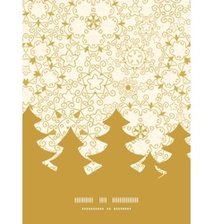 abstract swirls old paper texture Christmas tree vector image vector image