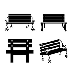 Chair design vector image