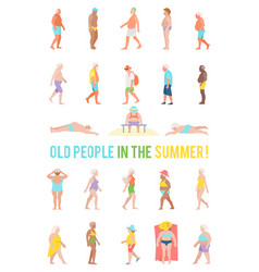 people relax and sunbathe on the beach vector image