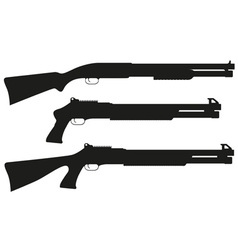 shotgun 07 vector image