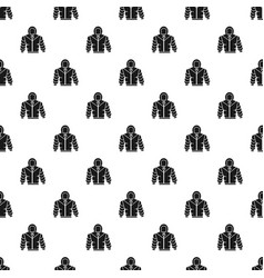 climb mountain clothes pattern seamless vector image