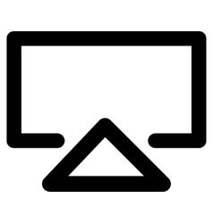 Data Entry Stroke Icon vector image