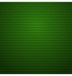 Green background with small flowers vector