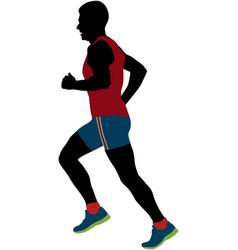 Male runner average years vector