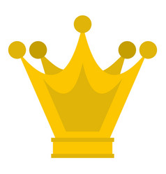 princess crown icon isolated vector image
