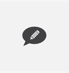 topic base icon simple sign vector image
