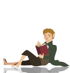 hobbit vector image