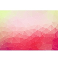 Pink background with triangles shapes vector image
