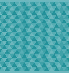 seamless triangles blue pattern vector image