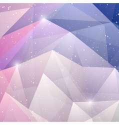 abstract winter background Christmas Design vector image