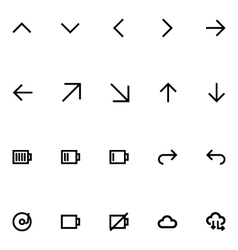 Apple Watch Icons 8 vector