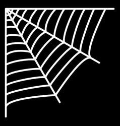 Cobweb spiders web vector
