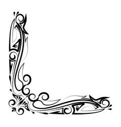 decorative border royalty free vector image vectorstock rh vectorstock com decorative frame border vector decorative frame border vector