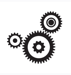 Gears and cogs vector