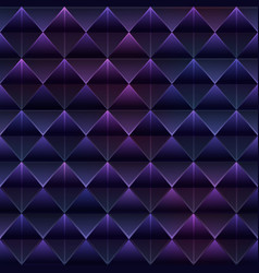 Purple triangle seamless pattern vector