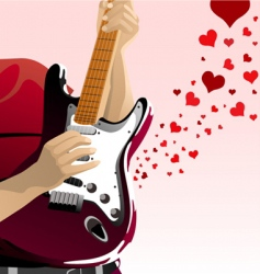 love song vector image