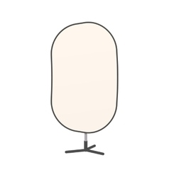 Studio reflector icon cartoon style vector image vector image