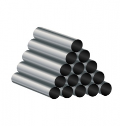 metal tube vector image vector image