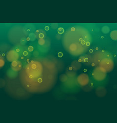 abstract defocused circular purple green bokeh vector image