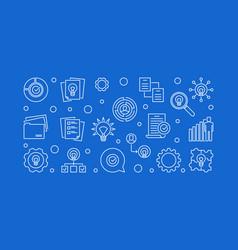 business ideas creative vector image