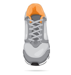Running shoe vector