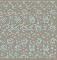 Seamless pattern background beige and blue vector