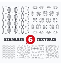 Vintage ornament circles and stones textures vector image