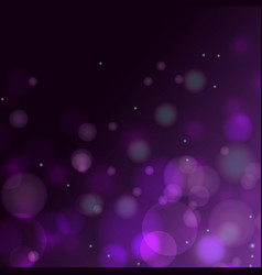 violet purple bokeh gradient background vector image