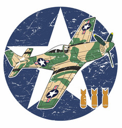 world war ii aircraft - ii vector image
