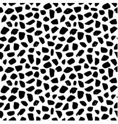 seamless pattern grunge brush stroke vector image vector image