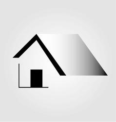 Abstract home logo vector image