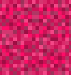 Abstract Mosaic Seamless Pattern Background in Red vector image vector image