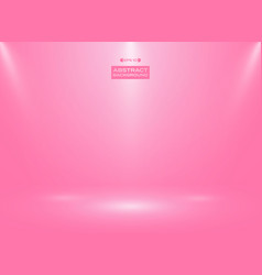 abstract of gradient pink color in studio room vector image