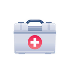 Ambulance case icon health care symbol medical vector