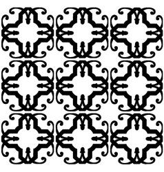 Block print wallpaper vector