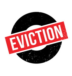 Eviction rubber stamp vector