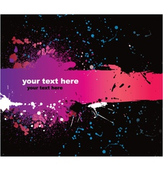 grunge background with space for text vector image